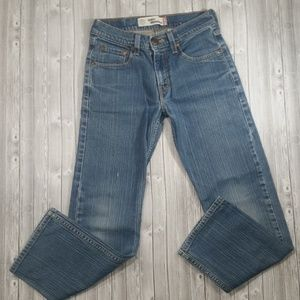 {T5} Levi's 514 Jeans Distressed Girls Size 16
